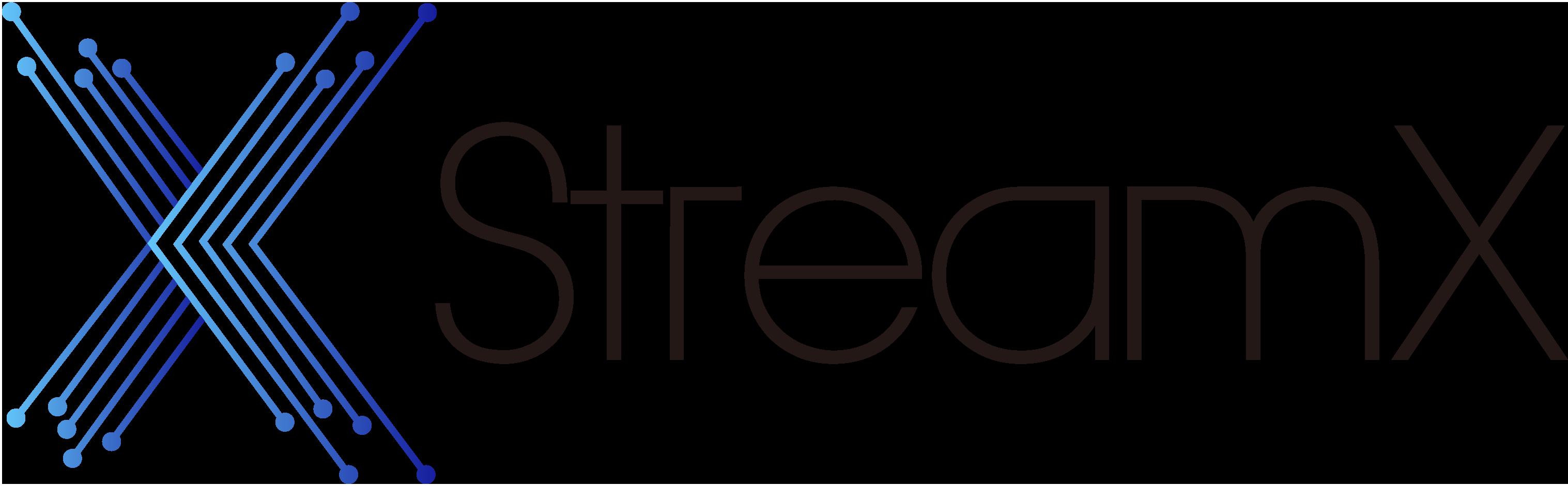 StreamX logo
